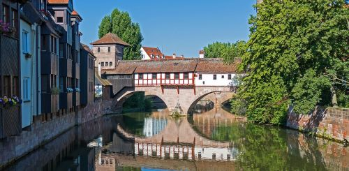 nuremberg hangman bridge bridge