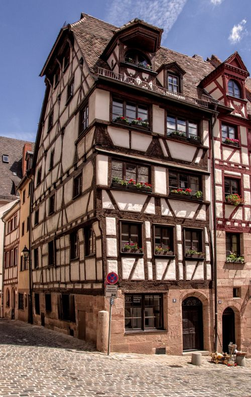 nuremberg historically old town