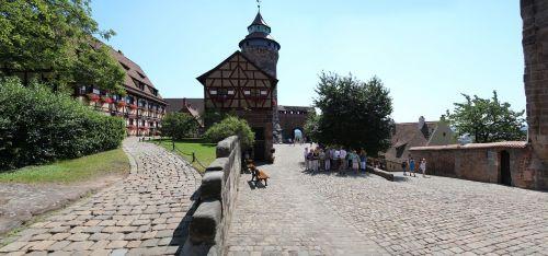 nuremberg castle burghof