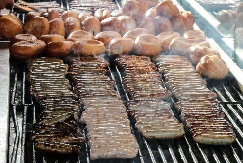 nuremberg sausages sausages grill
