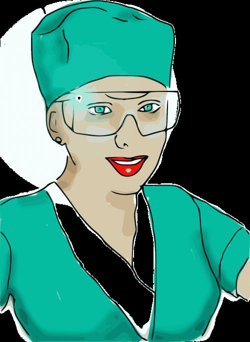 nurse woman girll