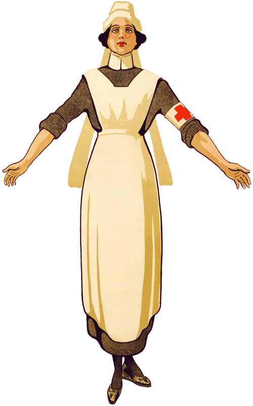 nurse red cross first world war