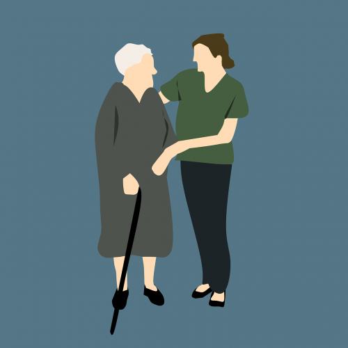 nurse old woman