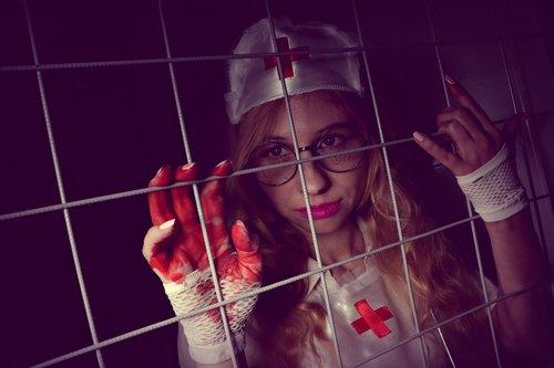nurse  hospital  halloween