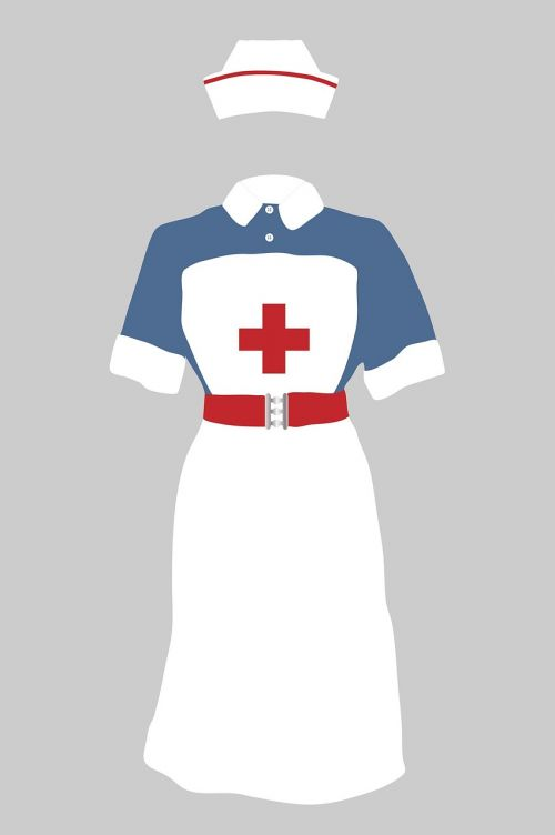 nurses uniform nurse vintage