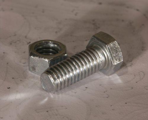 nut bolt threaded