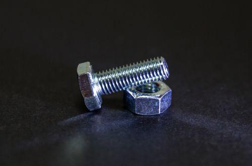 nut bolt metal