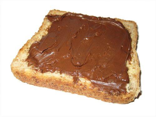 nutella toast white bread