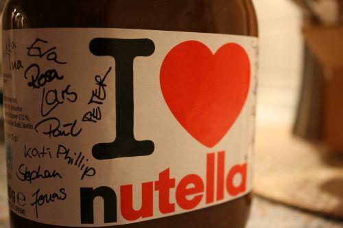 nutella chocolate breakfast