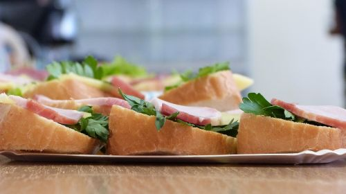 nutrition food a sandwich