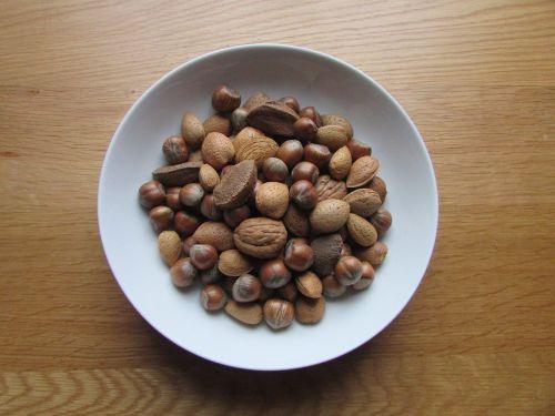 nuts brazil nuts hazel nuts