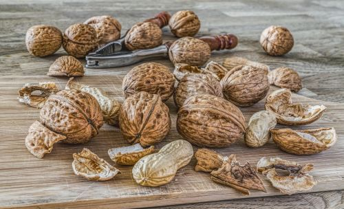 nuts walnuts left untreated