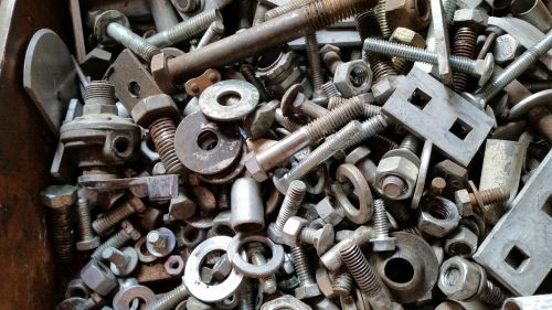 nuts bolts metal
