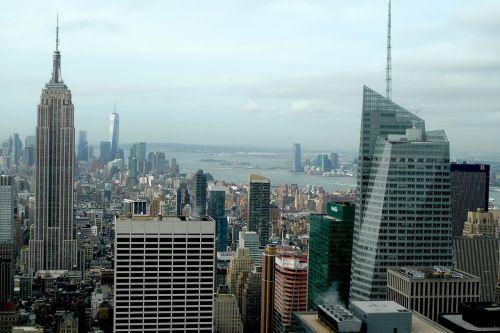 ny manhattan skyscrapers