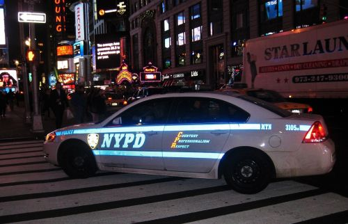 police car nypd new york