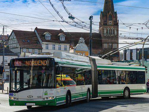 o - bus bus trolley bus
