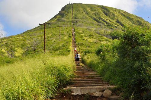 oahu koko head mountain