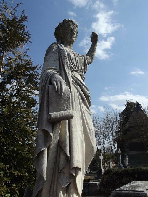 oakland cemetery cemetery statue