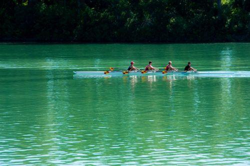 oars boat river