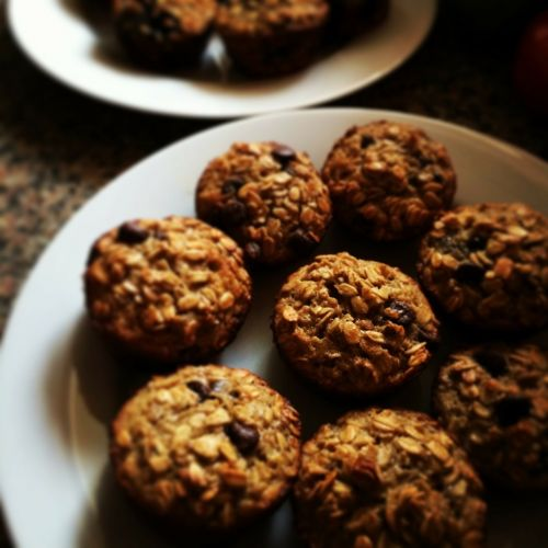 oatmeal muffins cakes