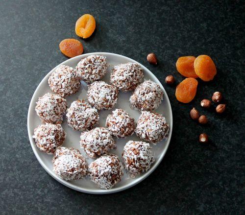 oatmeal balls kokuskugler homemade