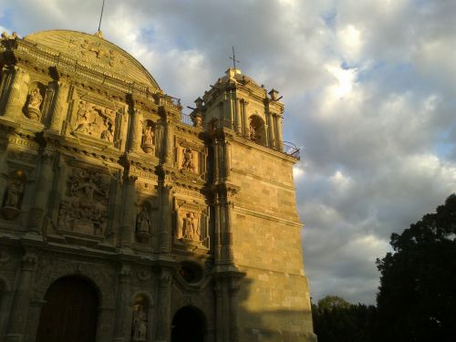 oaxaca architecture cathedral