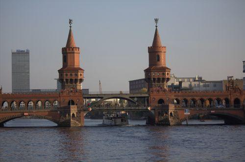 oberbaumbrücke berlin spree