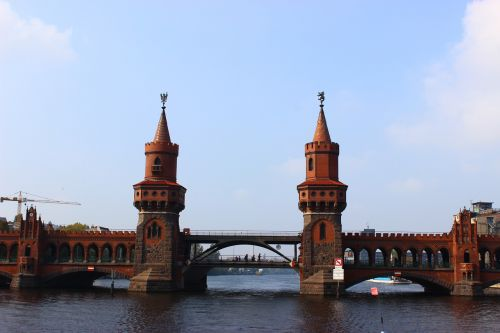 oberbaumbrücke,šurprizas,Berlynas,tiltas,architektūra,kelių tiltas,bokštai,kapitalas,lankytinos vietos