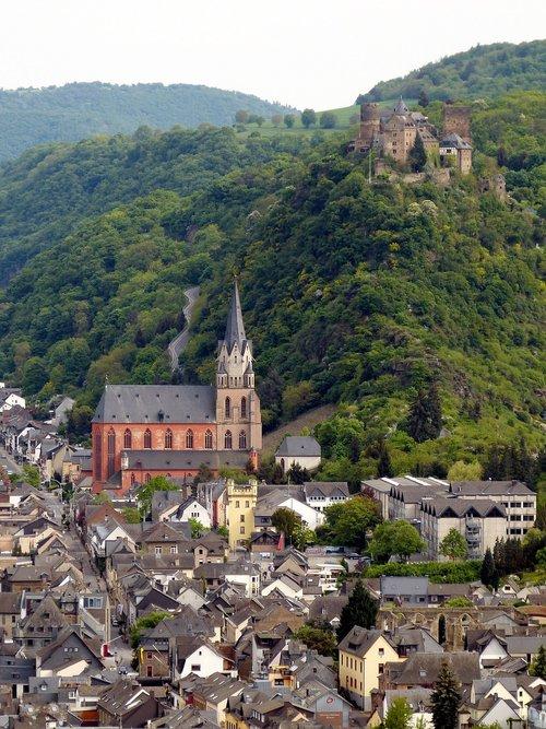 oberwesel  castle  rhine