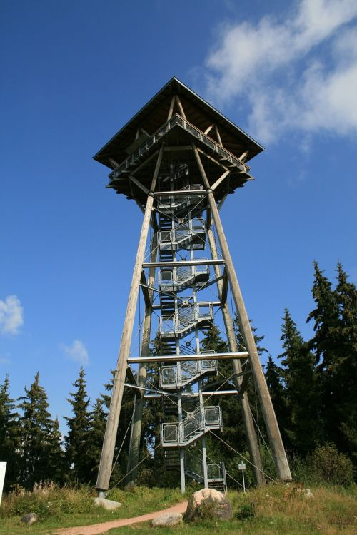observation tower tower building