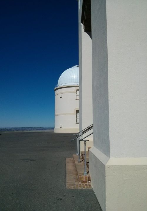 observatory white building