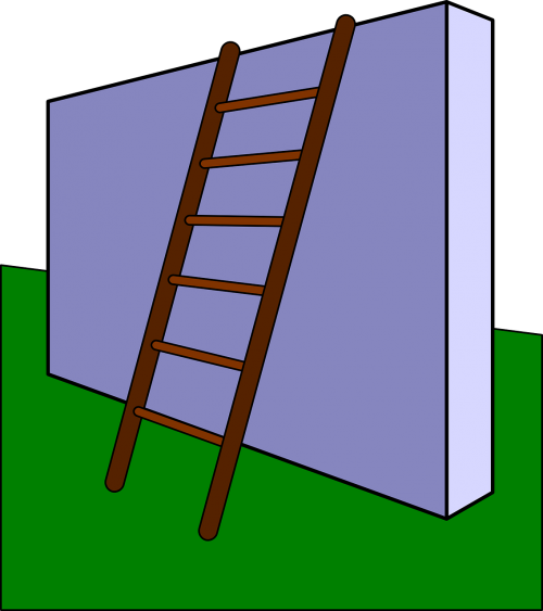 obstacle ladder wall