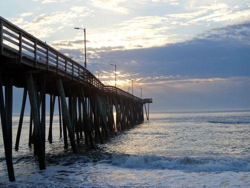 ocean pier sea