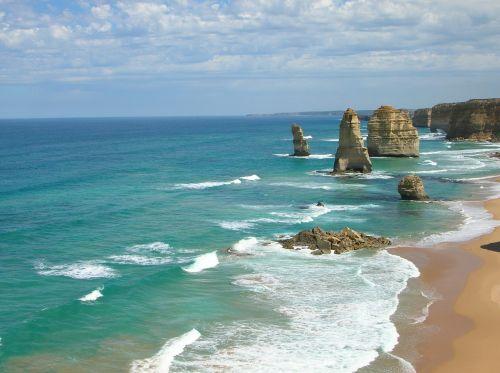 ocean great ocean road australia
