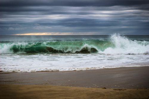 ocean onda costa