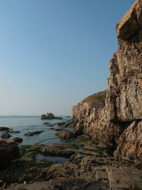 ocean beach rocks