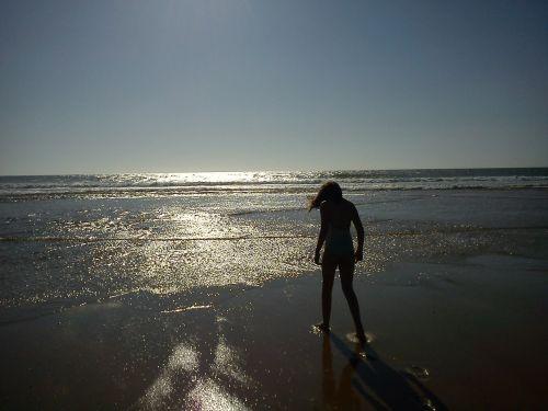 ocean beach summer