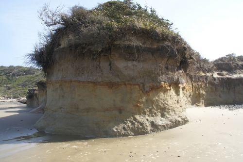 ocean erosion beach