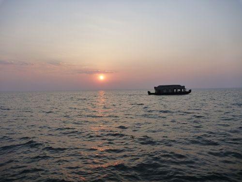 ocean boat sea