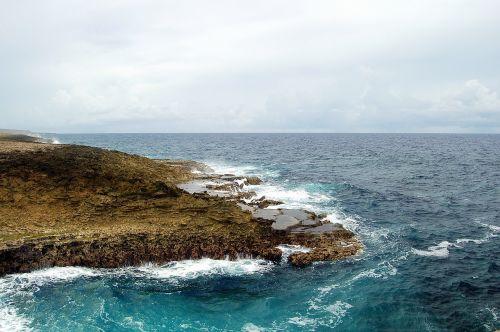 ocean sea rock