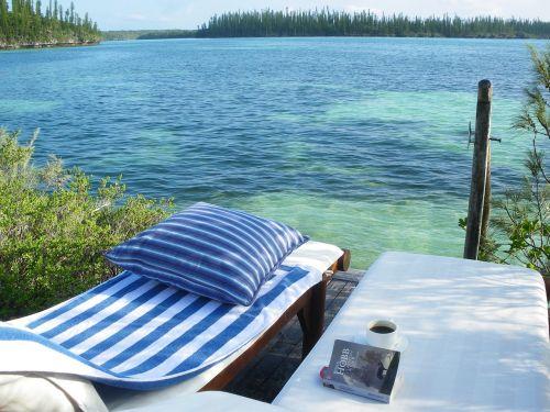 ocean lagoon relax