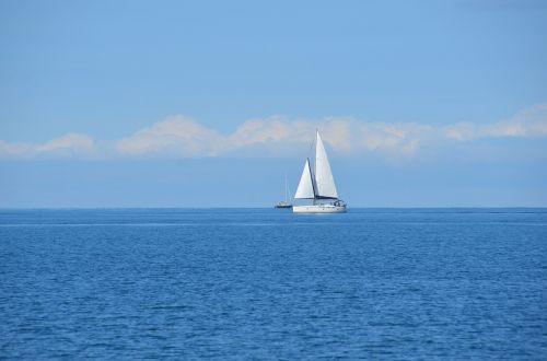 ocean sailboat sailing