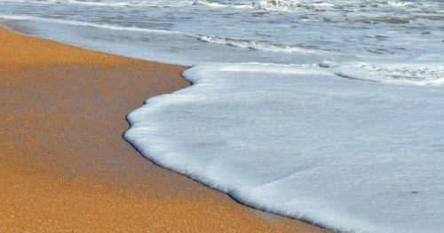 Ocean Surf Wave Foam