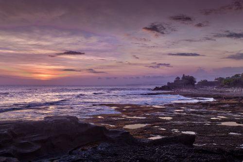 ocean view sunset travel