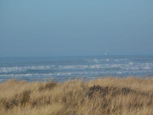 ocean view ship mist