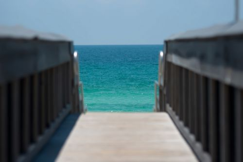 Ocean View From Pier