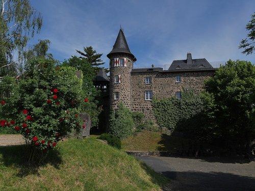 ockenfels  castle  linz am rhein