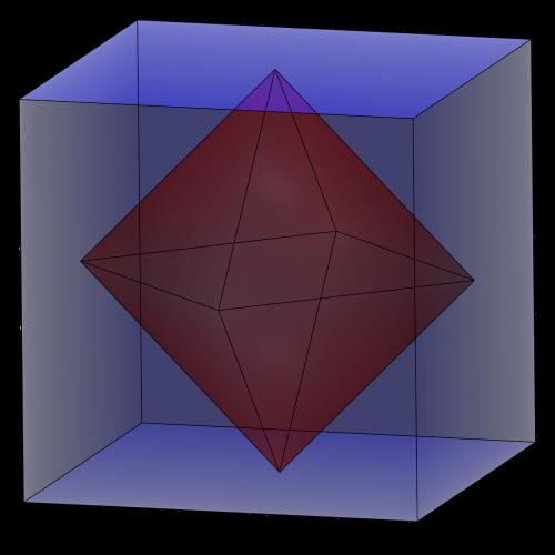 octahedron 3d geometry