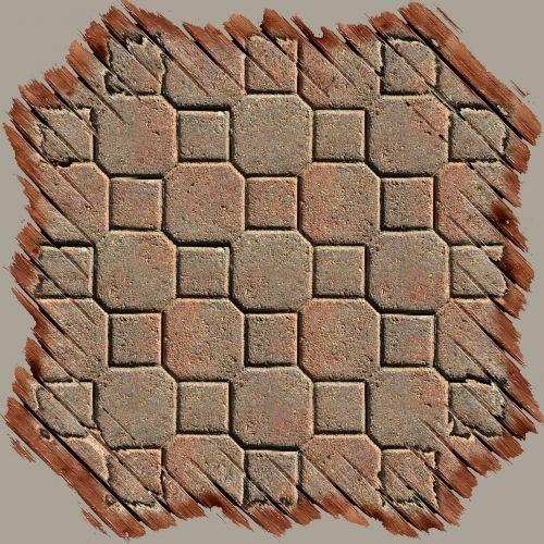 Octagon Brick Frame