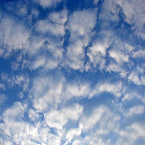 Odd Clouds In The Spring Sky